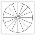 Dowsing chart, empty circle