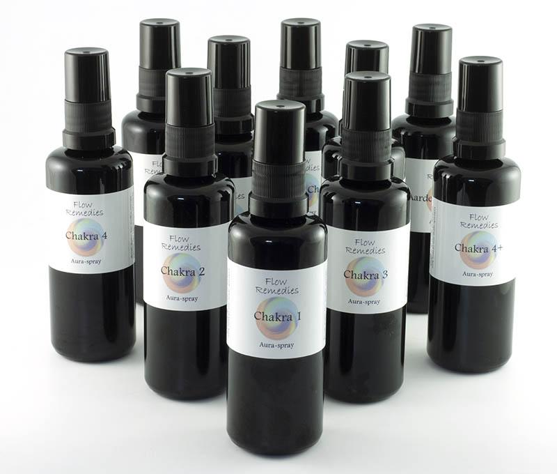 Flow Remedies Chakra Aura Sprays